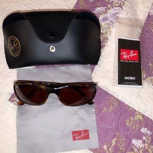Ray Ban RB4115 Rectangular Sunglasses